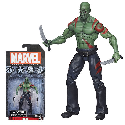 Marvel Infinite Series Drax 3 3/4-Inch Action Figure