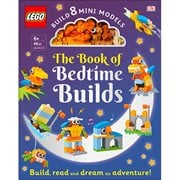 The LEGO Book of Bedtime Builds Hardcover Book