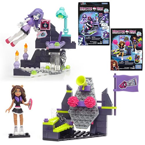 Monster High Creeperific Mini-Figure Playset Case