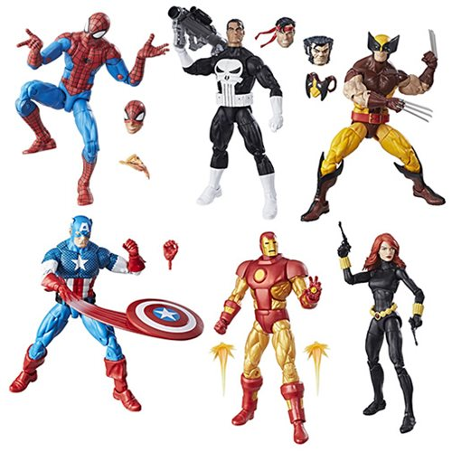 Marvel Legends Vintage Wave 1 Actionfigur Iron Man Action- & Spielfiguren