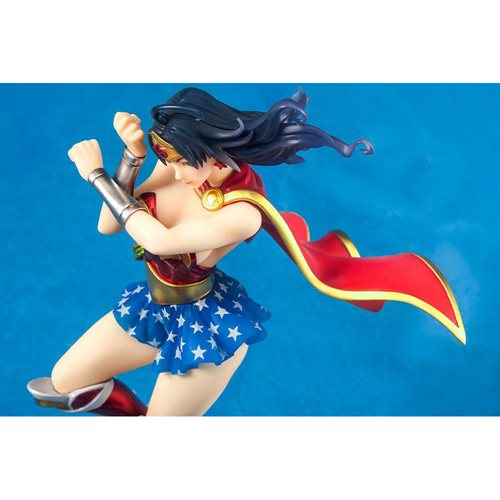Wonder Woman Armored Version Bishoujo Statue - ReRun