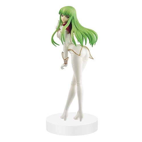 Code Geass: Lelouch of the Rebellion C.C. Pilot Suit EXQ Statue