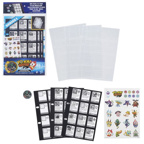 Yo-Kai Watch Medallium Binder Pages Series 1