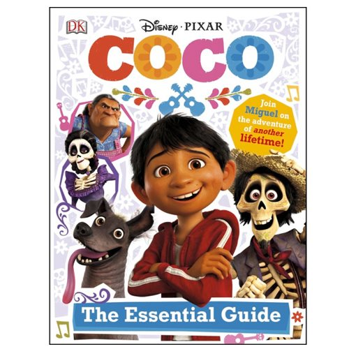 Disney Pixar Coco: The Essential Guide Hardcover Book
