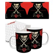 V for Vendetta Freedom Forever 11 oz. Mug