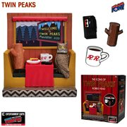 Twin Peaks Icons Bobble Head with Enamel Pin Set #2 - Convention Exclusive