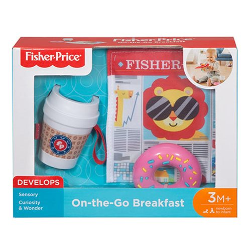 Fisher-Price On-The-Go Breakfast Set