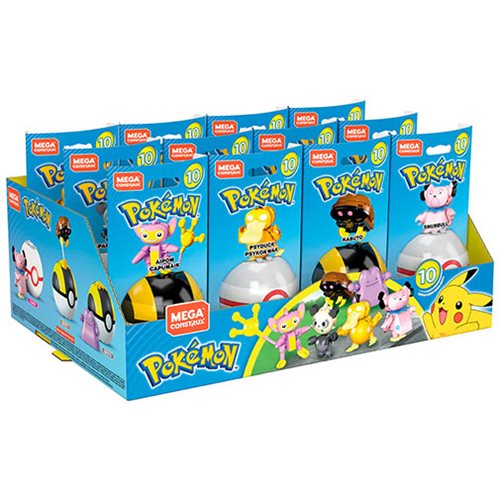 Mega Construx Pokemon Poke Ball Series 10 Case