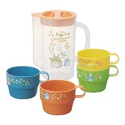 My Neighbor Totoro Totoro Flower Stackable Cup and Pitcher Set