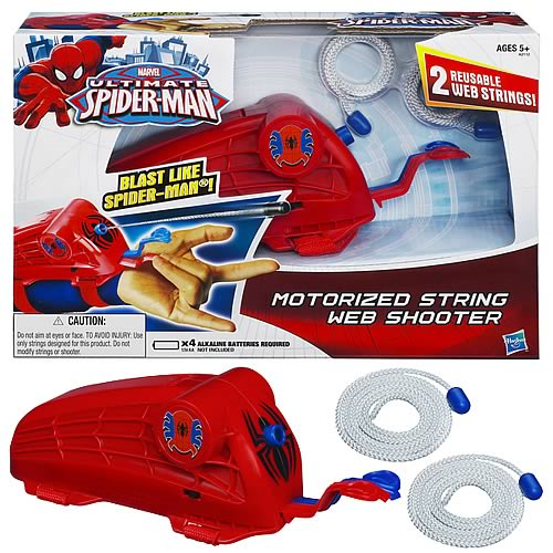Ultimate Spider-Man Motorized String Web Shooter