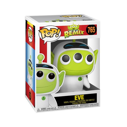 Pixar 25th Anniversary Alien as Eve Pop! Vinyl Figure