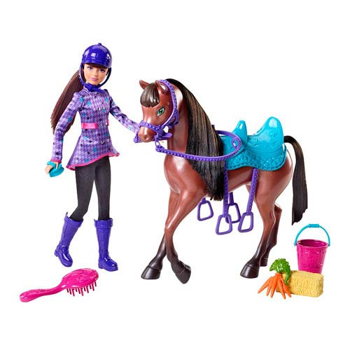 Barbie and Her Sisters in a Pony Tale Skipper Doll and Horse Set