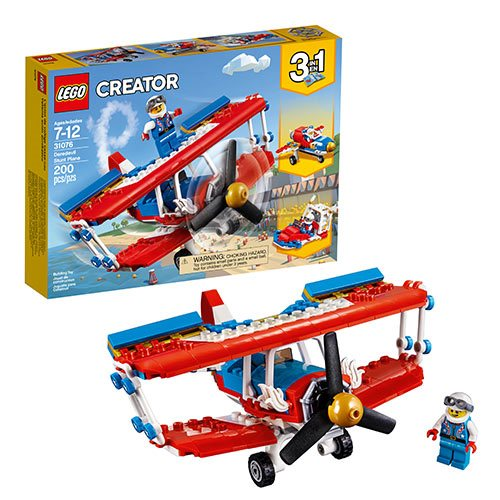 LEGO Creator Vehicles 31076 Daredevil Stunt Plane