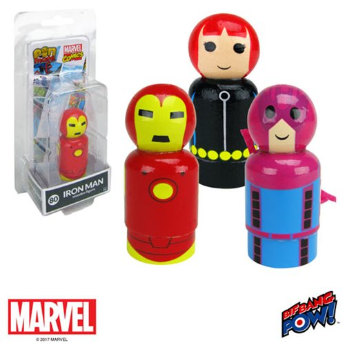 Marvel Classic Pin Mates Wooden Collectibles Set 2