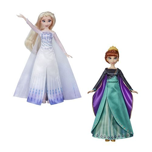 Frozen 2 Finale Singing Dolls Wave 1 Set