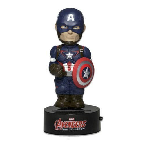 Avengers Age of Ultron Captain America Bodyknocker Bobble Head