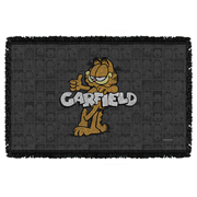 Garfield Retro Woven Tapestry Throw Blanket