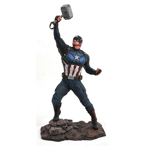 Marvel Movie Gallery Avengers: Endgame Captain America Statue