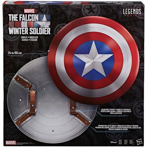 Marvel Legends Avengers Falcon and Winter Soldier Captain America Shield Prop Replica