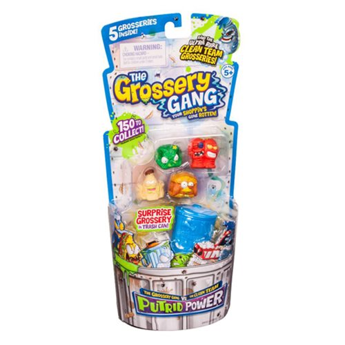 The Grossery Gang  Series 3 Mini-Figure Regular Pack