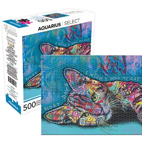 Dean Russo Cat 2 500-Piece Puzzle