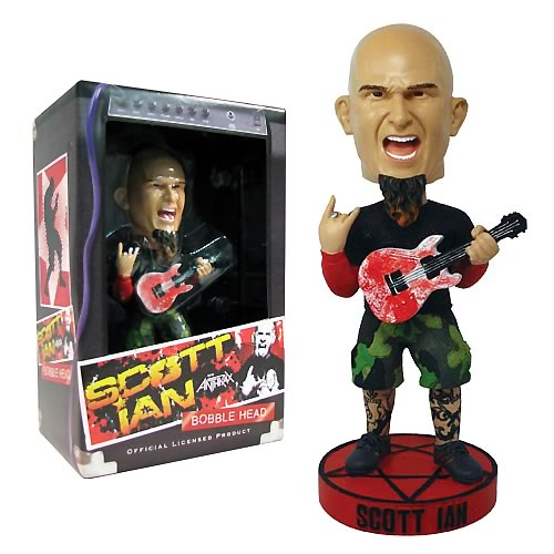 Scott Ian Anthrax Bobble Head