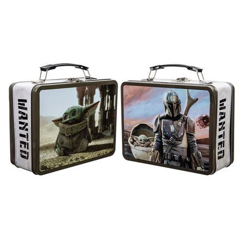 Star Wars The Mandalorian Large Tin Tote