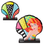 Disney The Little Mermaid Ariel Shell Statue by Romero Britto