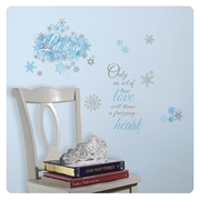 Disney Frozen Let it Go Peel and Stick Wall Decals