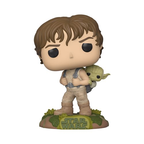 Star Wars: Empire Strikes Back Training Luke with Yoda Pop! Vinyl Figure