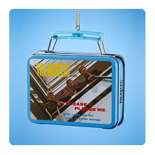The Beatles Miniature Tin Lunch Box Christmas Ornament