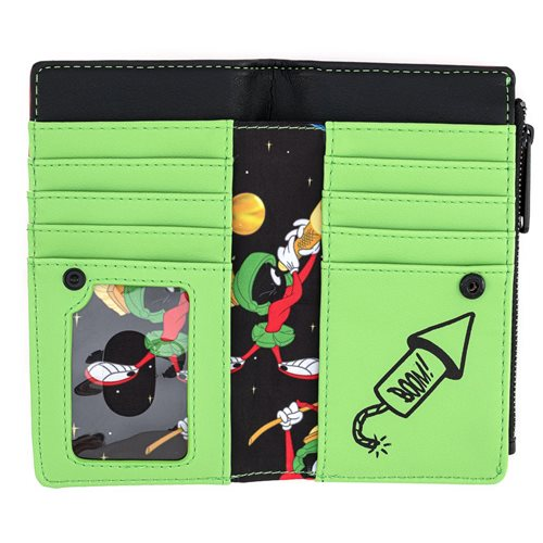 Marvin the Martian K-9 Flap Wallet
