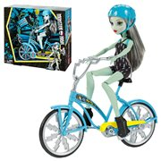 Monster High Boltin' Bicycle Frankie Stein Doll Playset
