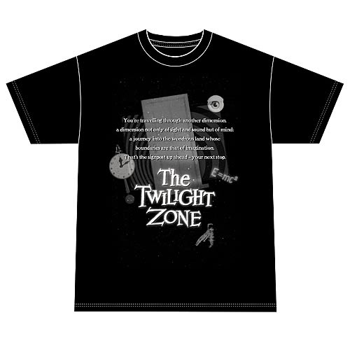The Twilight Zone Monologue T-Shirt
