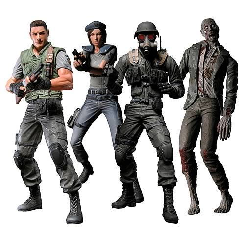 Resident Evil 10th Anniversary Action Figures Case