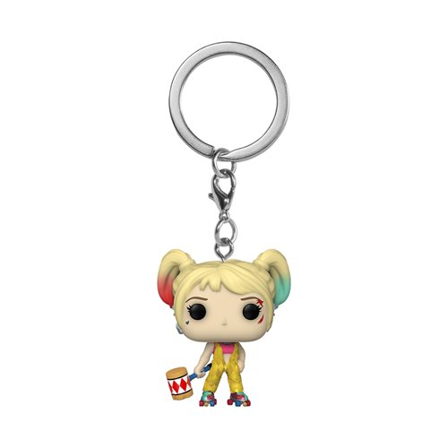 Birds of Prey Harley Quinn Boobytrap Battle Pocket Pop! Key Chain
