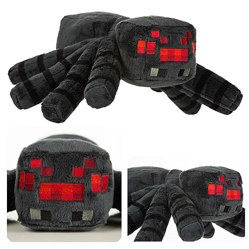 Minecraft Large Spider Deluxe Plush