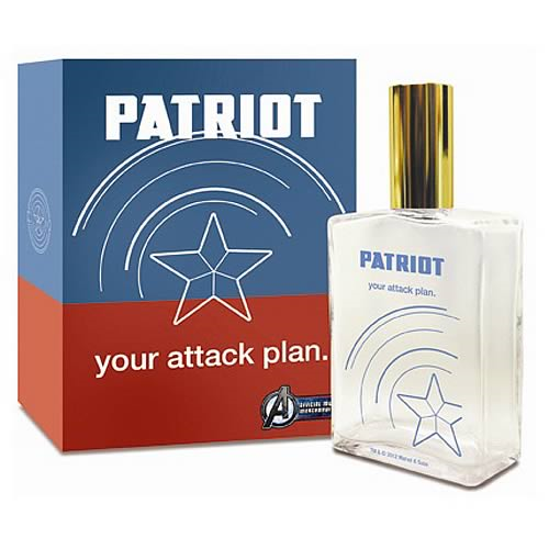Avengers Patriot Your Attack Plan Captain America Cologne