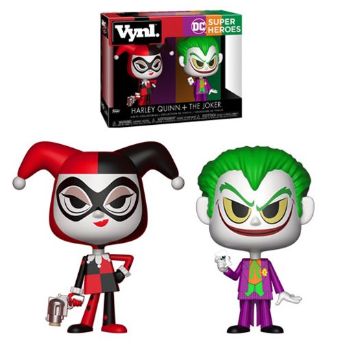 Batman Harley Quinn and Joker Vynl. Figure 2-Pack