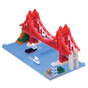 Golden Gate Bridge Nanoblock Constructible Figure