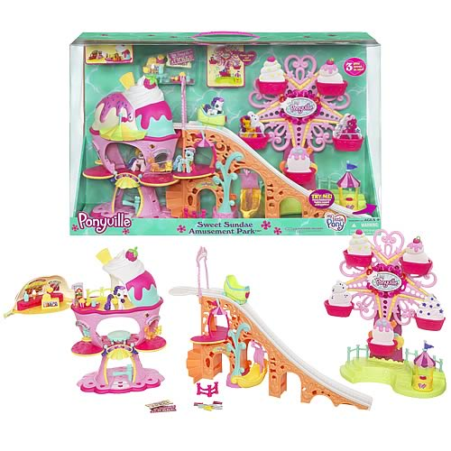 My Little Pony Toy Food : My little pony ponyville amusement park playset