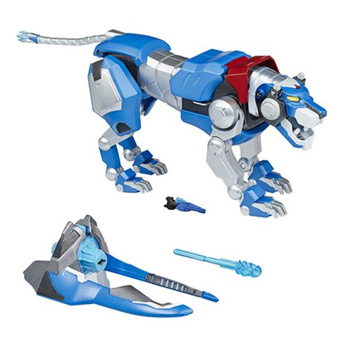 Voltron Blue Lion Intelli-Tronic Figure, Not Mint