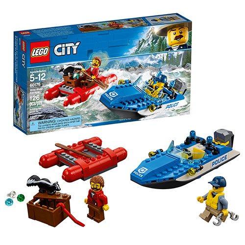 lego city police 60176 wild river escape - Lgo City Police