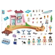 Playmobil 70279 Waterfront Ice Cream Shop Playset