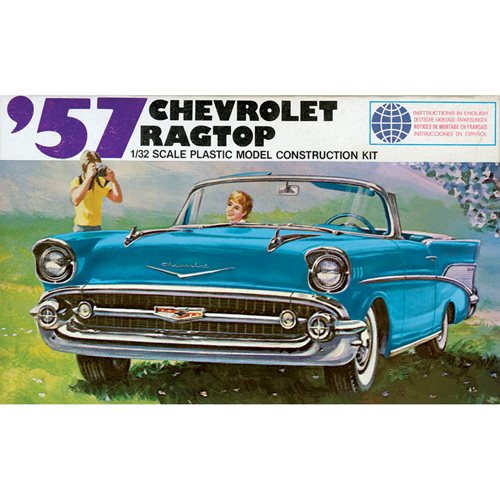 1957 Chevy Ragtop 1:32 Scale Model Kit