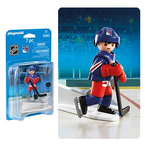 Playmobil 5082 NHL New York Rangers Player Action Figure