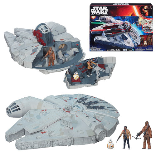 Star Wars: Episode VII - The Force Awakens Millennium Falcon Vehicle, Not Mint