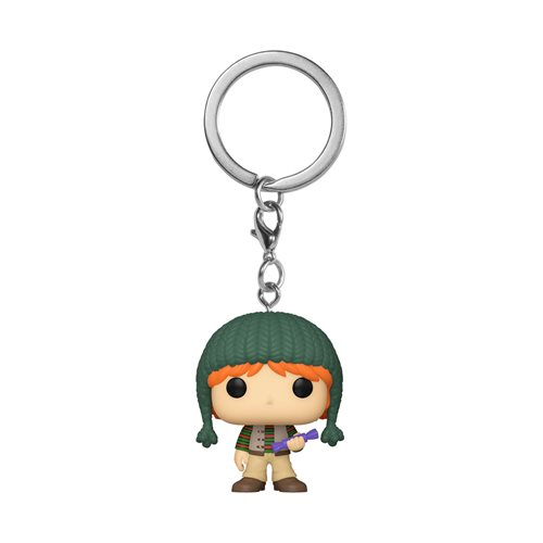 Harry Potter Holiday Ron Pocket Pop! Key Chain