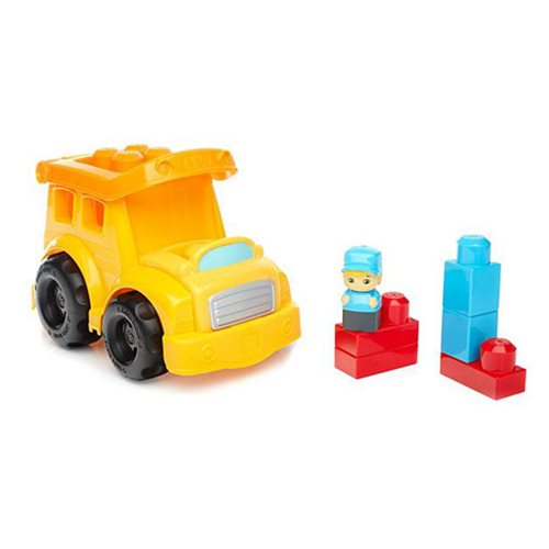 Mega Bloks School Bus Vehicle