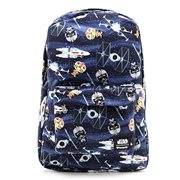 Star Wars Chibi Ships Print Backpack